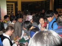 Čína 2012  - autogramiáda s fanoušky