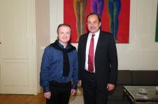 s ministrem zahraničí Janem Kohoutem